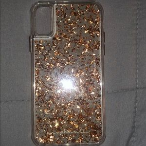 iPhone X/Xs gold karat casemate case